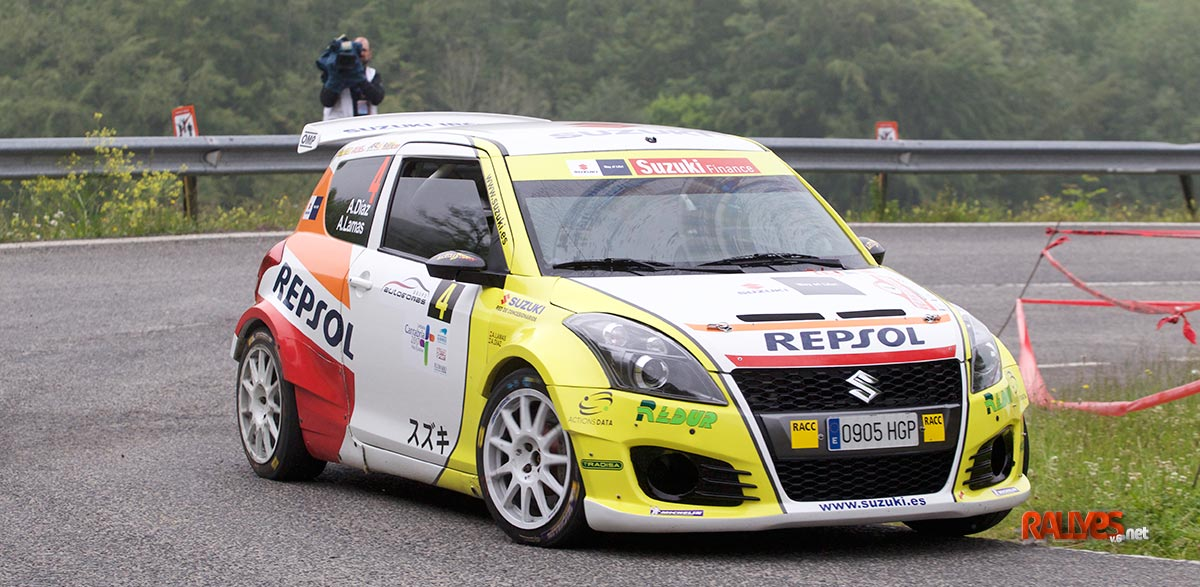 Adrian Diaz 37 Rallye Santander Cantabria
