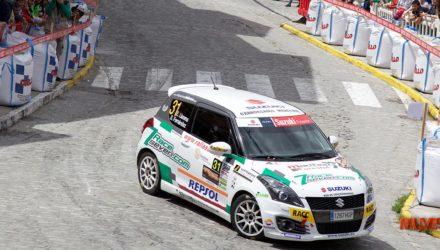 Efren Llarena 49 Rallye de Ourense