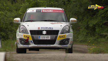 Vídeo: Copa Suzuki Swift tras el Rallye de Ourense