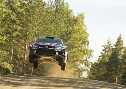 Jari-Matti Latvala (FIN), Miikka Anttila (FIN) Volkswagen Polo R WRC (2016) WRC Rally Finland 2016
