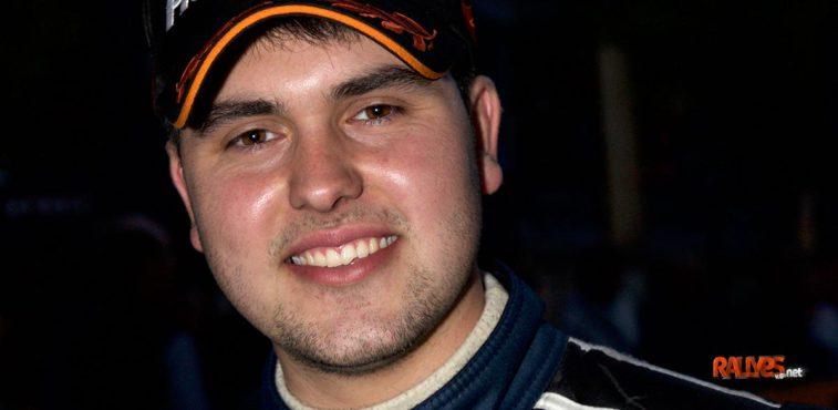 Javier Pardo. Rallye de