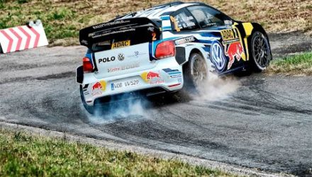 Video, shakedown del Rallye de Alemania