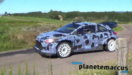 Video, tests de Abbring con el i20 WRC 2017 en asfalto