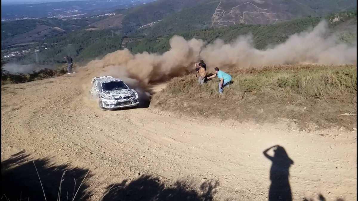 Video, tests de Volkswagen en Arganil, Portugal
