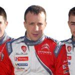 Citroën confirma su formación para el WRC 2017 y 2018
