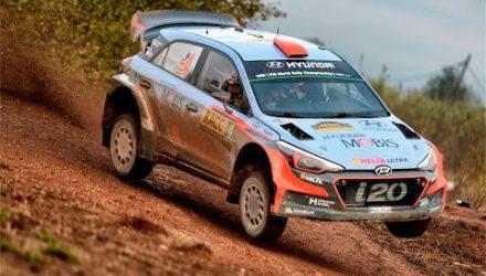Vídeo, shakedown del RallyRACC