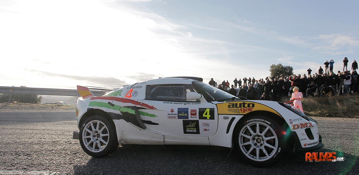 Rallye de Madrid: Marbán y el Lotus, abanderados GT
