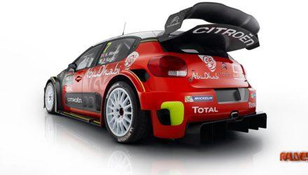 Citroen C3 WRC, trasera