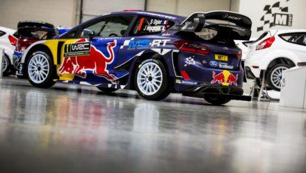 Decoración Fiesta WRC Sebastien Ogier