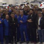 """Vídeo: Malcolm Wilson anuncia la """"buena nueva"""" a sus empleados"""