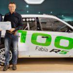 Skoda entrega el Fabia R5 número 100