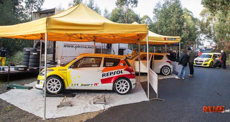 Tests equipo Suzuki-Repsol