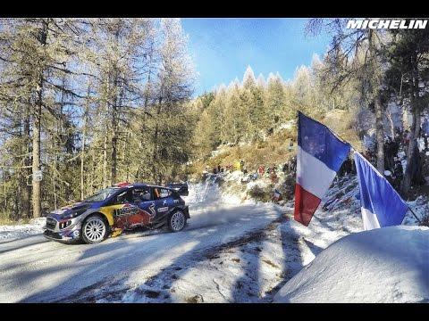 Así será el itinerario del Rallye Montecarlo 2018