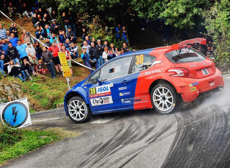 Peugeot, «Cohete» y Pepe López, al ERC