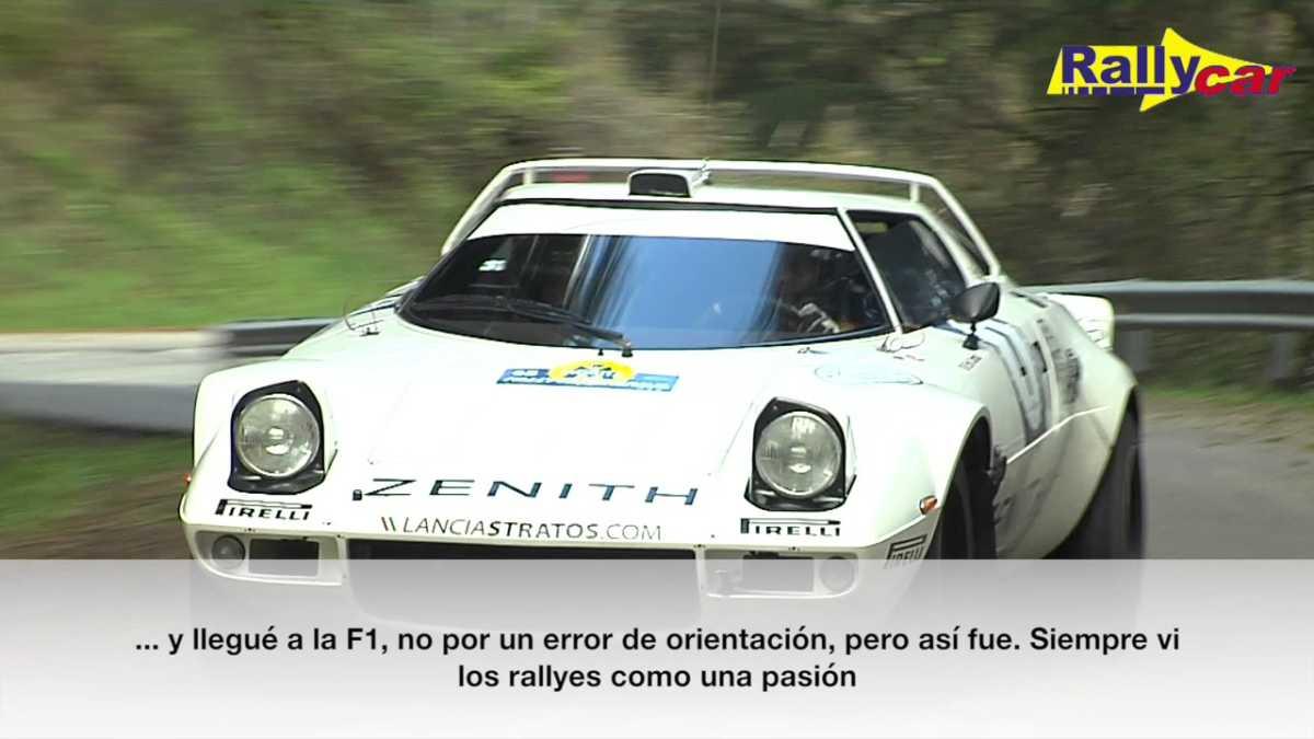 Érik Comas: de la F1 a la pasión por el Lancia Stratos