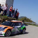 Rallye Sierra Morena: una ensalada que le amargó la carrera a una pareja de gallegos