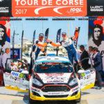Solans gana la primera prueba del Júnior WRC en Córcega