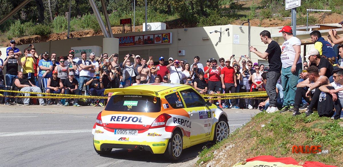 Adrian Diaz 35 Rallye Sierra Morena