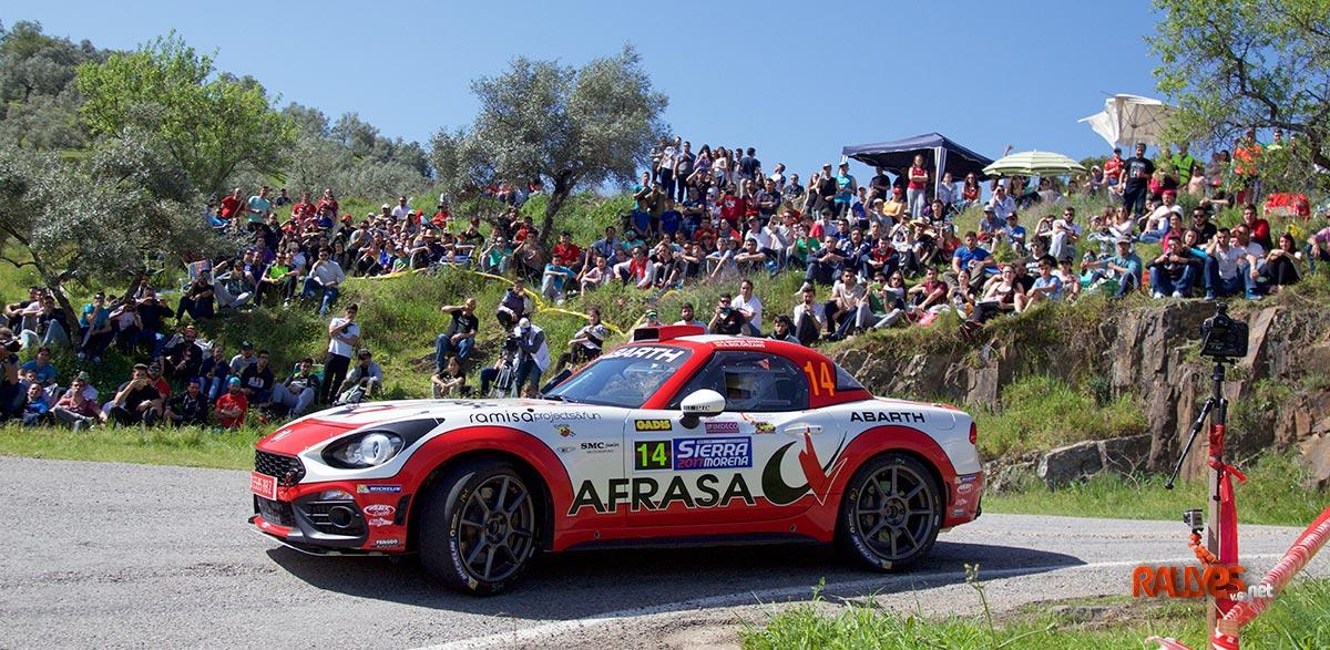 Alvaro Muñiz 35 Rallye SIerra Morena