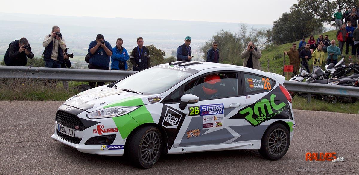 German Leal 35 Rallye Sierra Morena