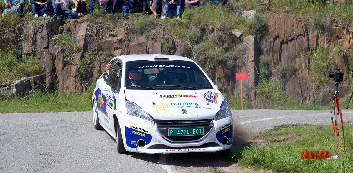 Javier PArdo 35 Rallye Sierra Morena