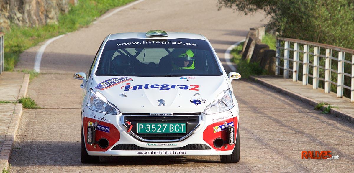 Roberto Blach 35 Rallye Sierra Morena