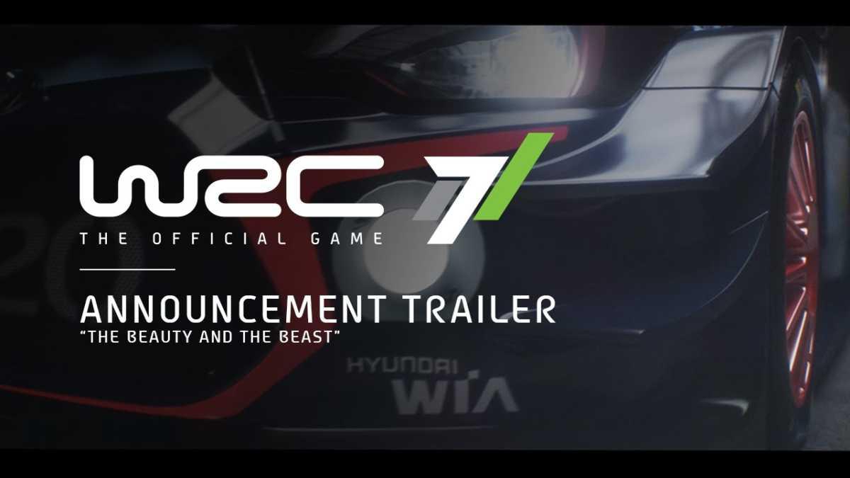 WRC 7 el juego oficial del WRC este otoño