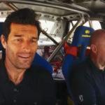 Vídeo: el día que Mark Webber conoció a Miki Biasion