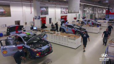 Así es la fábrica de Hyundai Motorsport en Alzenau