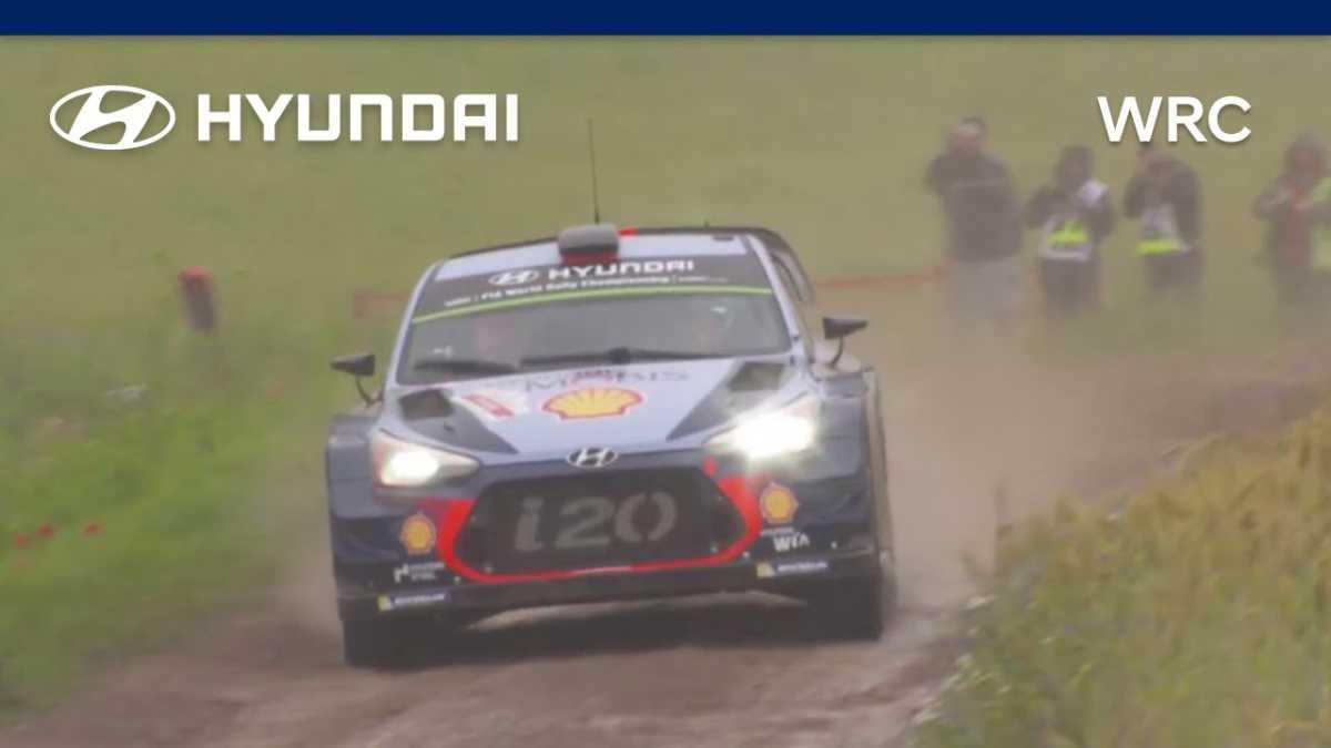 Vídeo de lo que fue el Rallye de Polonia para Hyundai