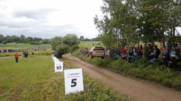 Vídeo: El salto más largo del Rallye de Polonia