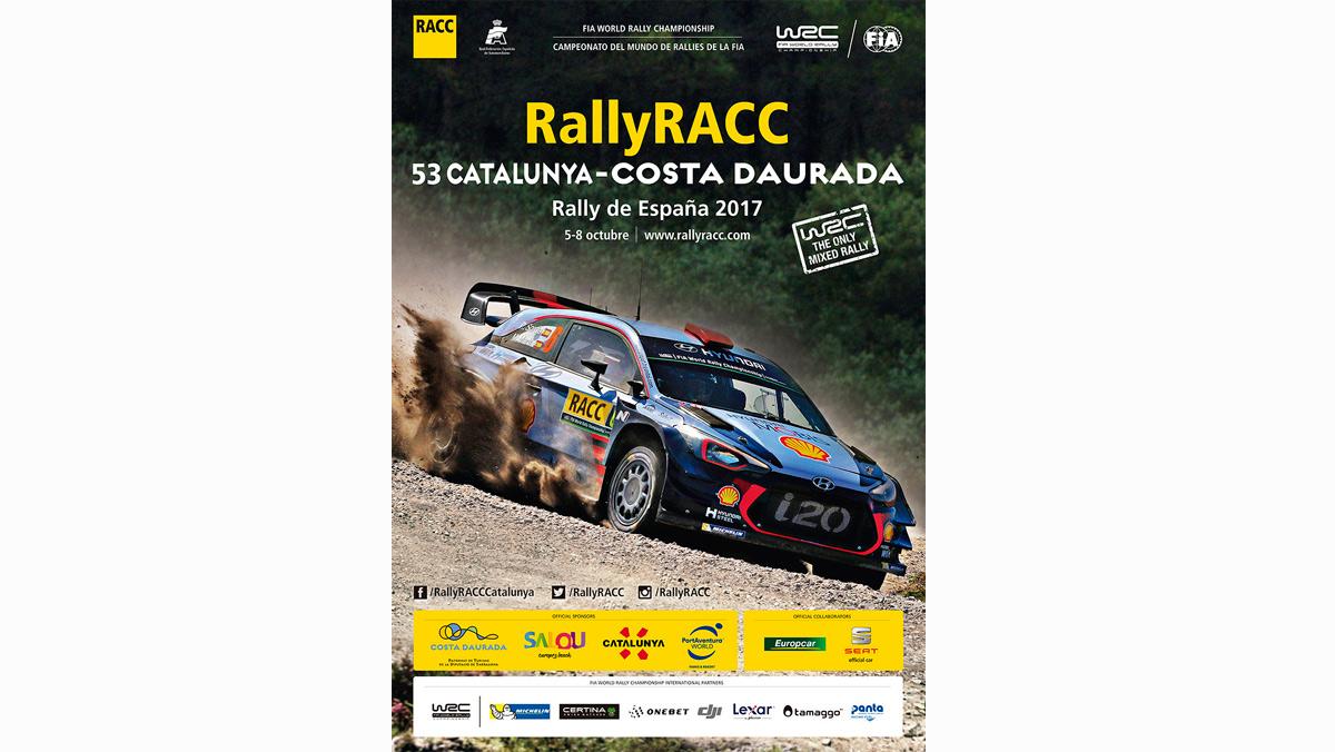 Hyundai, protagonista del cartel del 53º RallyRACC