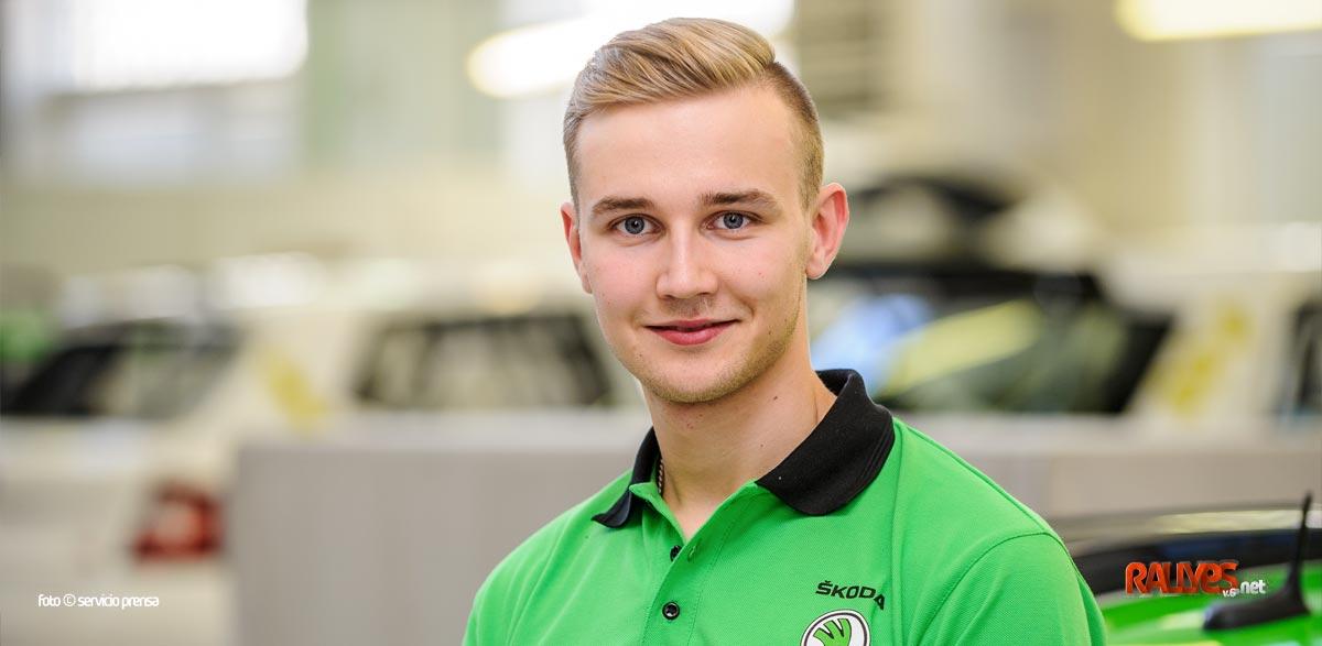Skoda también busca jóvenes talentos, el primero Juuso Nordgren