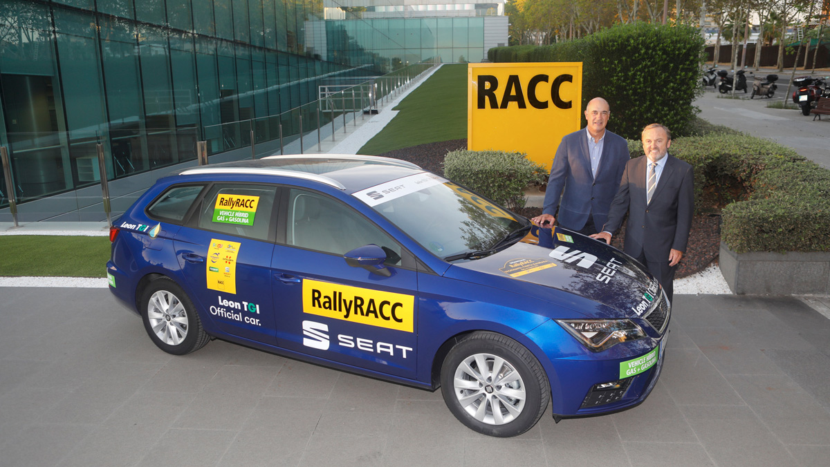El RallyeRACC apuesta por los motores híbridos