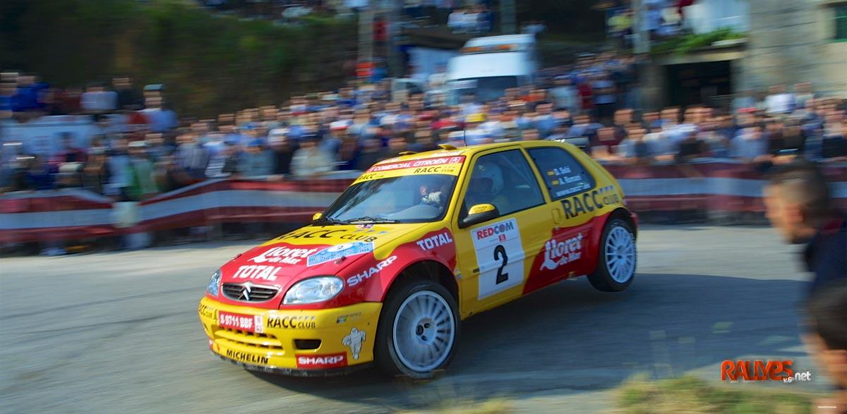 Dani Sola 38 Rallye Rías Baixas 2002