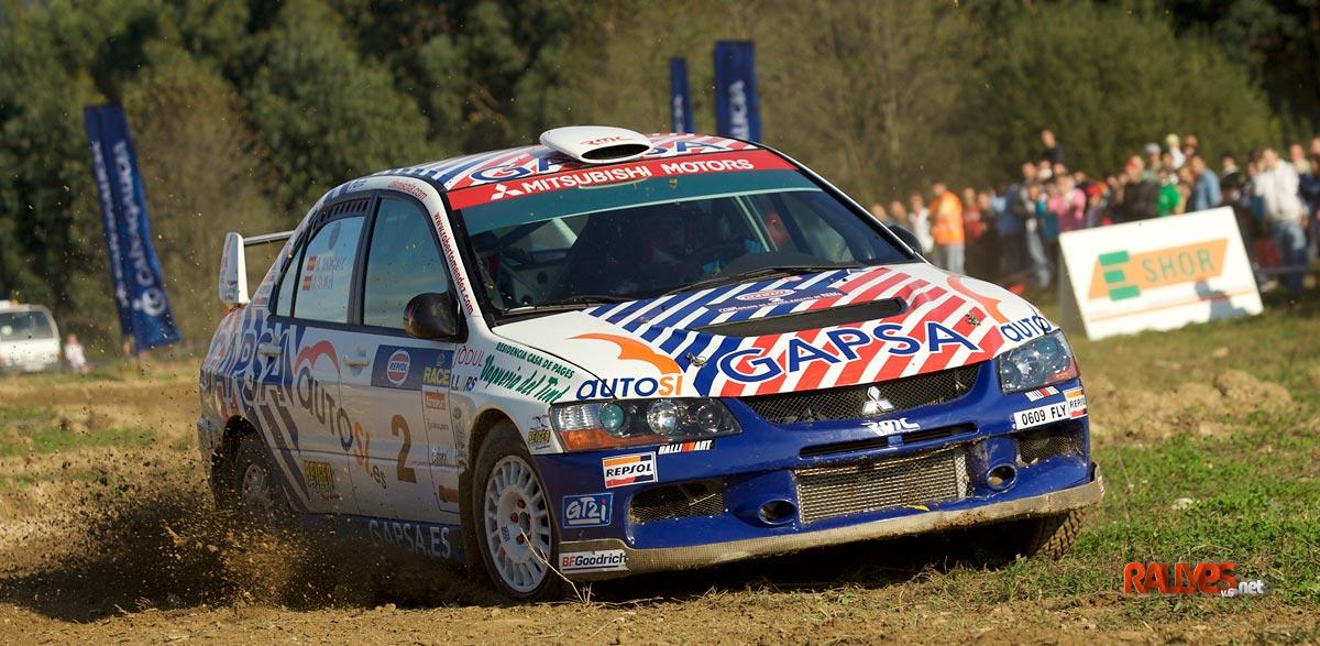 Dani Sola Rallye Tierra Cabanas 2008