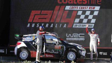 Kris Meeke-Paul Nagle (Citroân DS3 WRC)-Rally Australia 2015