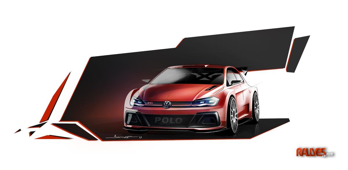 El Volkswagen Polo R5 a finales de 2018