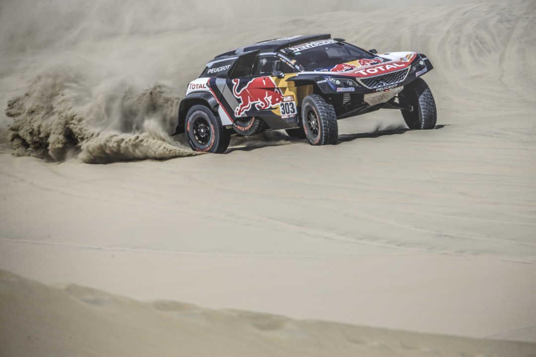 Así está el equipo Peugeot después de la segunda etapa del Dakar