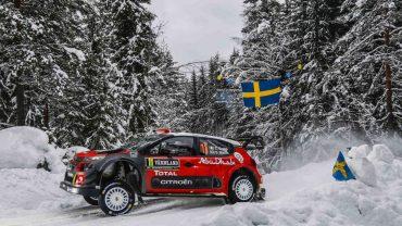 Craig Breen (Citroân C3 WRC)-2ß en Rally de Suecia