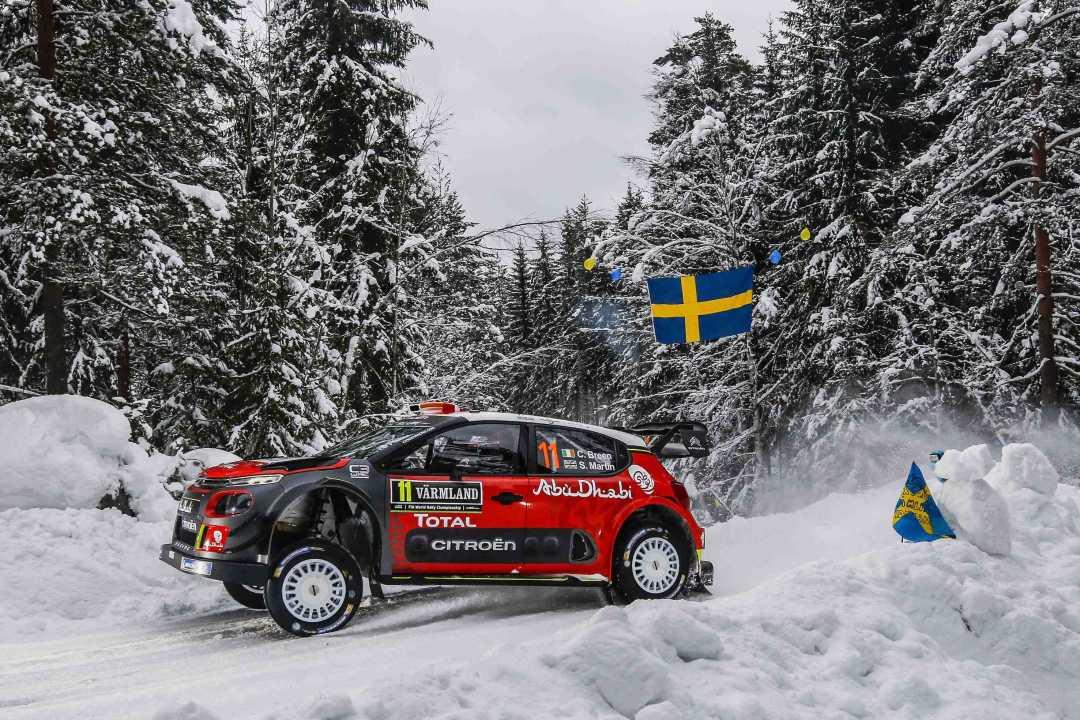 Craig Breen, el irlandés que aprendió a conducir un coche de rallye en un lago helado escandinavo