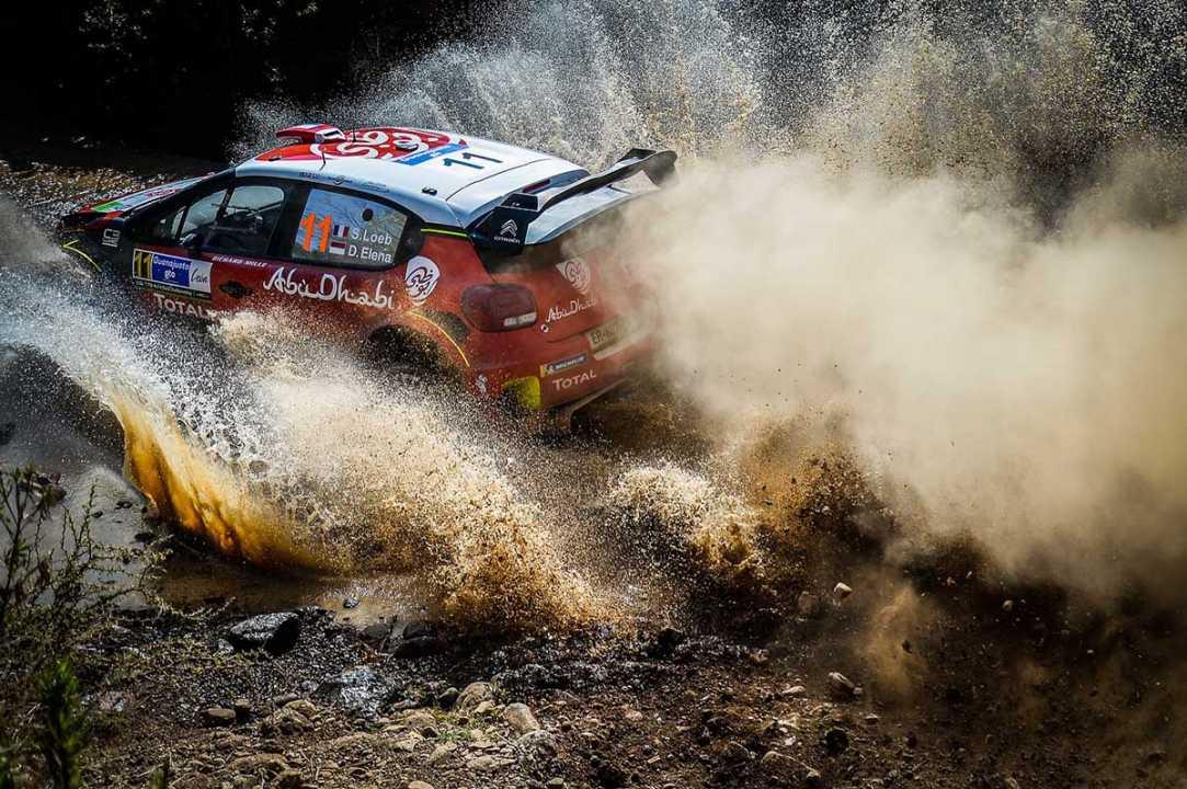 Sébastien Loeb, sorprendido de ver que está al mismo nivel que los demás pilotos del WRC