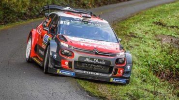 Kris Meeke (Citroân C3 WRC)-Shakedown Tour de C¢rcega