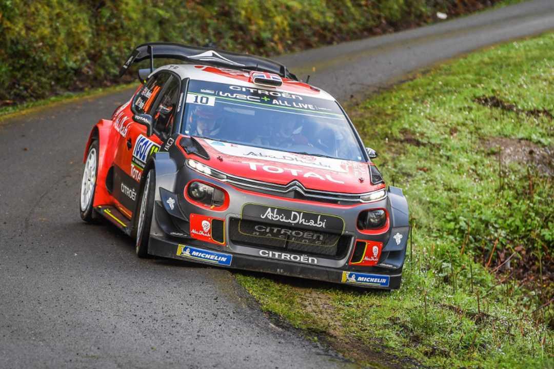Sébastien Loeb cada vez más a gusto con el C3 WRC