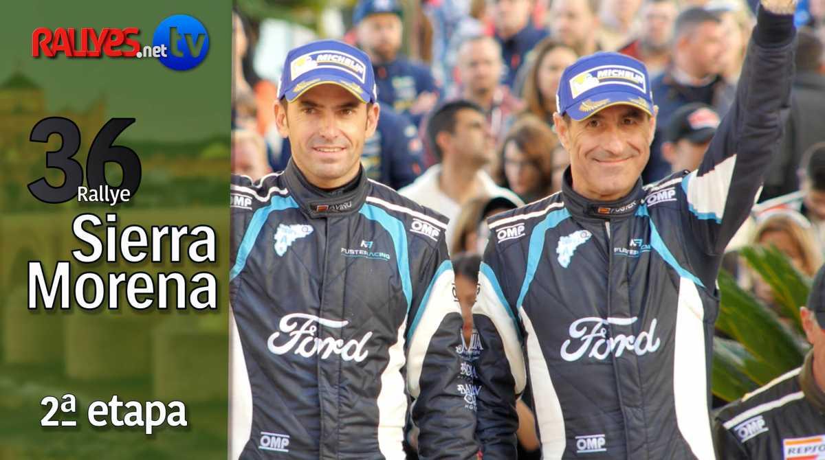 36 Rallye Sierra Morena – segunda etapa