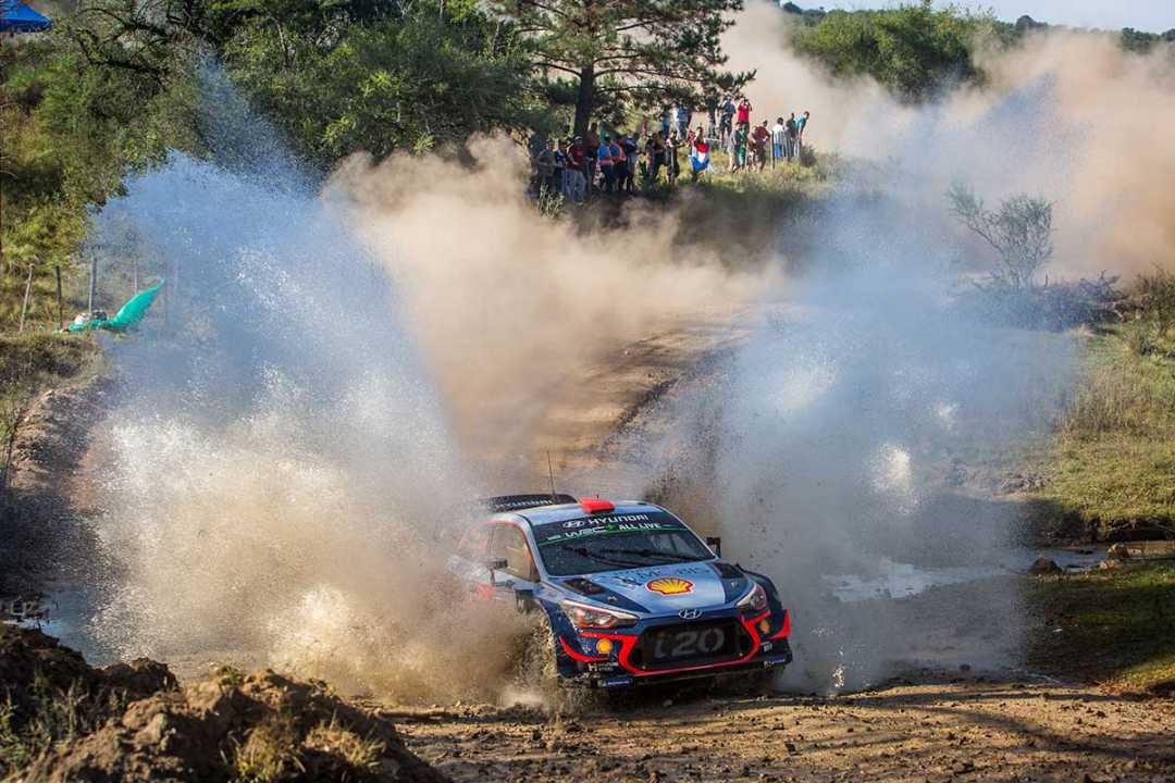 Tercera posición para Dani Sordo en un apretado Rallye de Argentina