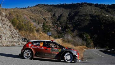 Kris Meeke (Citroën C3 WRC)-4º en Rally Montecarlo