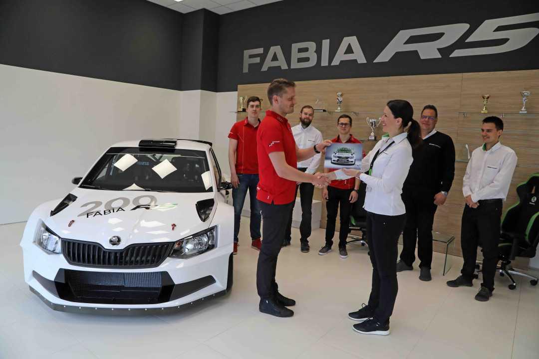 Hay 200 Skoda Fabia R5 por el mundo desde su homologación en abril de 2015