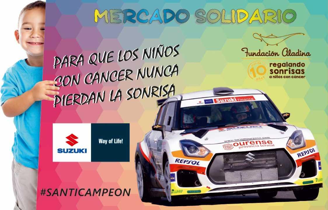 Mercado solidario Suzuki en el Rallye de Ferrol