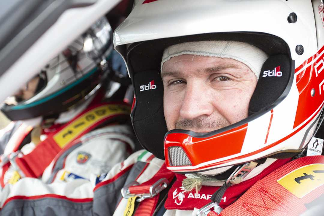 Alberto Monarri, la gran ausencia del Rallye de Ferrol